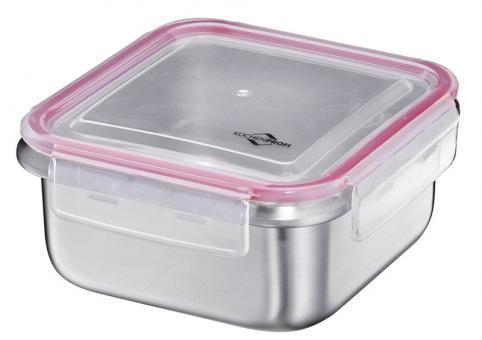Küchenprofi Lunchbox/Vorratsdose Edelstahl Quadratisch Mittel