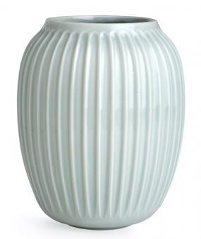 Kähler Hammershøi Vase H 20 cm mint