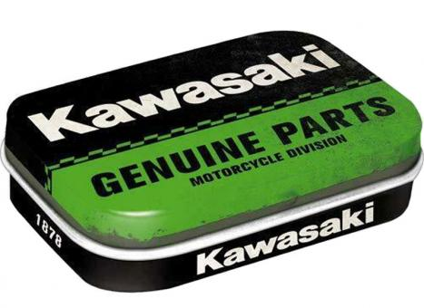 Nostalgic Art Pillendose Kawasaki - Genuine Parts
