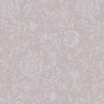Garnier-Thiebaut Serviette 55x55 cm Mille Charmes Rose Fume