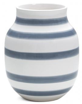 Kähler Omaggio Vase 20 cm light blue