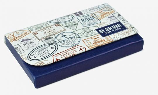 Legami Kartenetui Nice To Meet You Stamps
