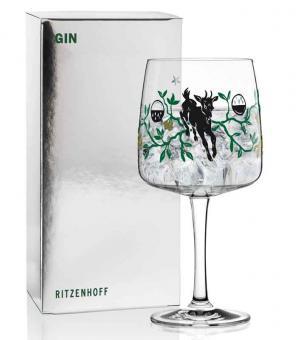 Ritzenhoff Gin Ginglas K. Rytter (Ziege) F20 Gin Ginglas