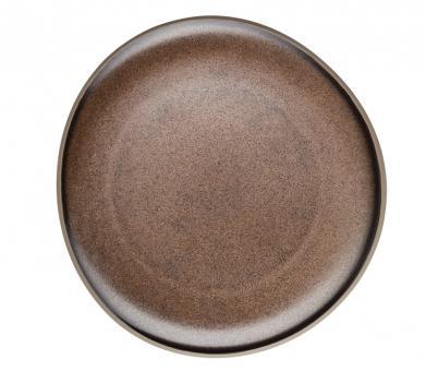 Rosenthal Selection Junto Bronze Teller Flach 22 cm