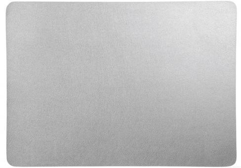 ASA Selection Tischset Silber 46x33 cm Lederoptik