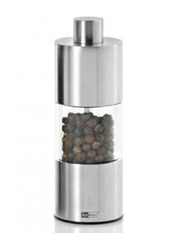 AdHoc Pfeffer-oder Salzmühle Edelstahl Ceramic Mahlwerk 13 cm