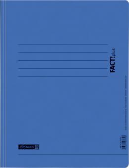 Brunnen Schnellhefter Pressspan blau