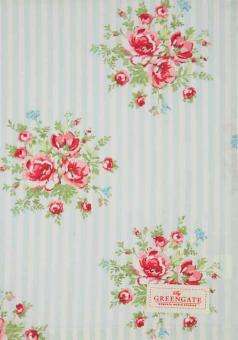 Greengate Geschirrtuch 50x70 cm Nellie pale blue