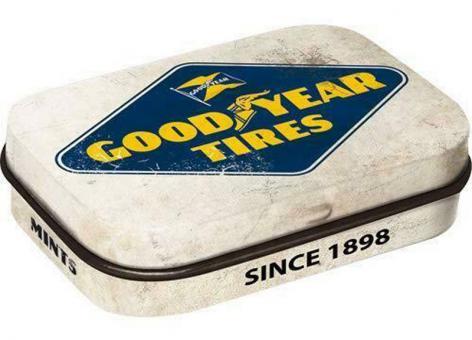 Nostalgic Art Pillendose Goodyear - Logo White