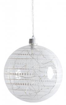 Räder Wunderkugel Lichtkugel LED Rauten Ø 15 cm 3xLR44