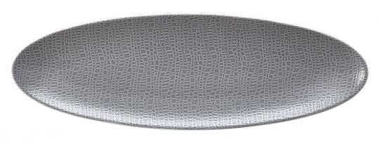 Seltmann Servierplatte Oval 40X26 Cm Life Masira Blau Goldocker