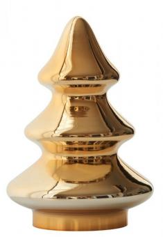Gift Company Weihnachtsbaum Sapin Glas H21cm gold