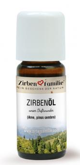 ZirbenFamilie Original Zirben Öl 10 ml