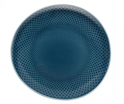 Rosenthal Selection Junto Ocean Blue Teller Flach 22 cm