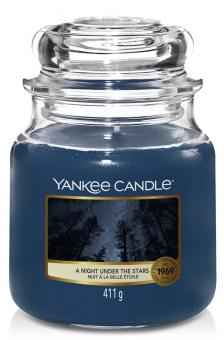 Yankee Candle Jar mittel A Night Under The Stars