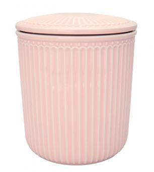 Greengate Vorratsdose Alice pale pink medium H 15 cm 1,2 L