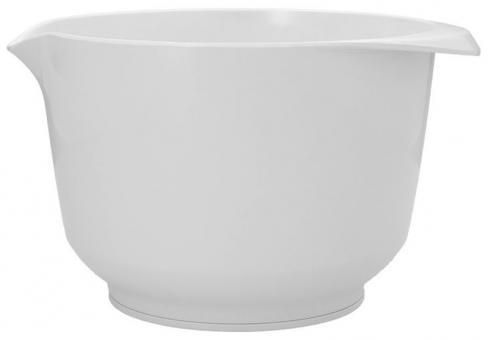 Birkmann Rühr- und Servierschüssel 3 L Colour Bowl Weiß