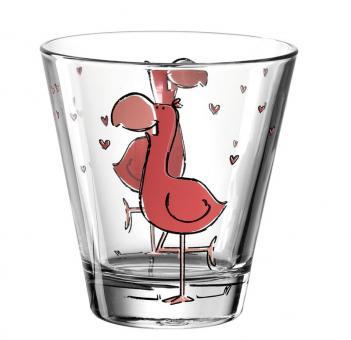 Leonardo Becher 215 ml Flamingo Bambini