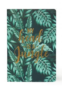 Legami Heft Medium liniert Jungle