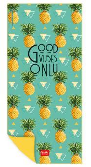 Legami Strandtuch 85x180 cm Pineapples