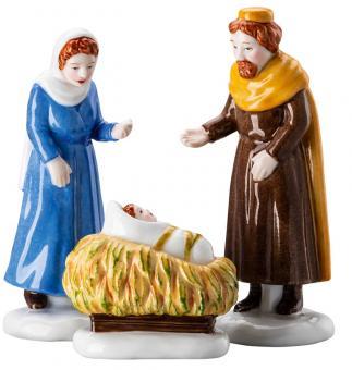 Hutschenreuther Set Maria, Josef und Kind
