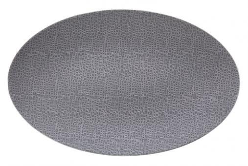 Seltmann Life Servierplatte Oval 40X26 cm Elegant Grey