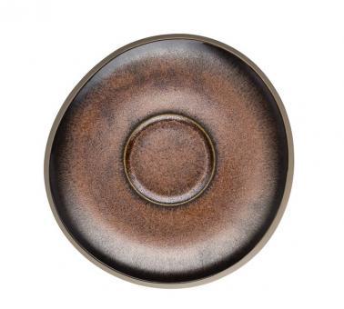 Rosenthal Selection Junto Bronze Kombi-Untertasse