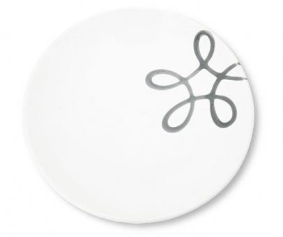 Gmundner Keramik Pur Geflammt Grau Unterteller Kaffee Cup 15 cm
