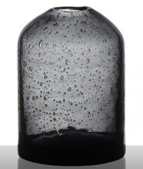 Hakbijl Solitärvase medium grey H 9.5 cm