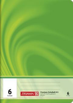 Brunnen Schulheft A5 Vivendi Lineatur 6 16 Blatt