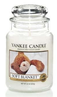 Yankee Candle Kerze groß Soft Blanket