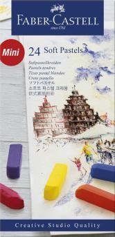 Faber-Castell Softpastellkreide Studio Quality mini 24