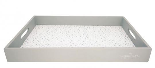 Greengate Tablett 31x45 cm Ellise white