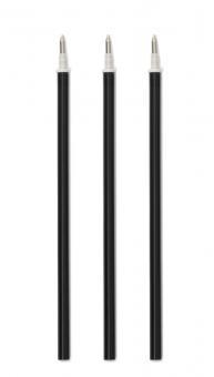 Legami Tinten-Ersatzpatrone schwarz für Gelstift (3 Stk.)