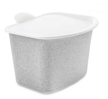Koziol Bio Abfall Behälter Bibo organic grey