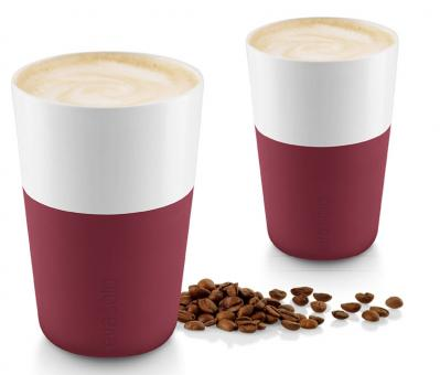 Eva Solo Caffé Latte-Becher 2 Stk. 360 ml Pomegranate