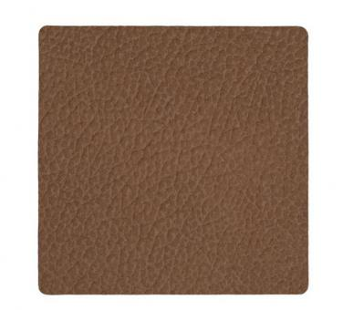 Lind DNA Glass Mat Square Hippo Brown