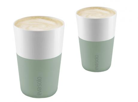 Eva Solo Caffé Latte-Becher 2 Stk. 360 ml Faded Green