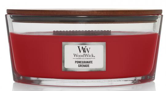 WoodWick Jar Ellipse Pomegranate