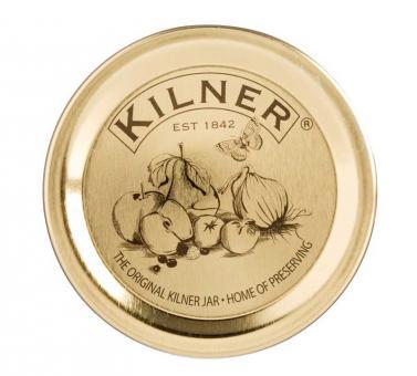 Kilner 12er Set Einmach Vakuum Dichtung, Metall, 10,2x2,5x15 cm