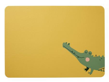 ASA Selection Tischset Croco Krokodil 46x33 cm Lederoptik