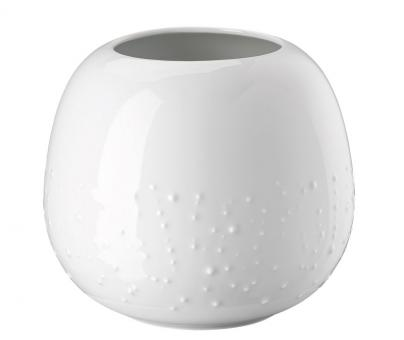 Rosenthal Selection Vesi Droplets Weiss Vase 16 cm