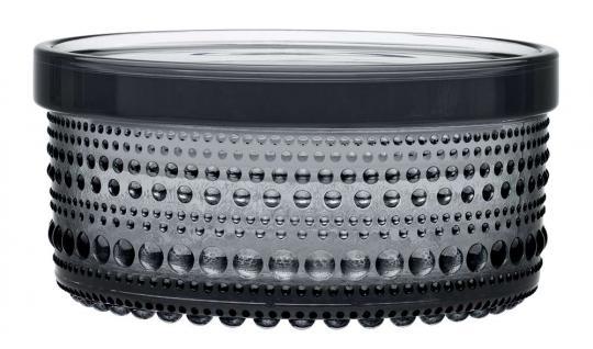 iittala Kastehelmi Vorratsbehälter 116x57 mm grau