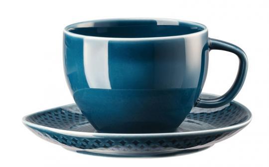 Rosenthal Selection Junto Ocean Blue Kombitasse im Geschenkkarton