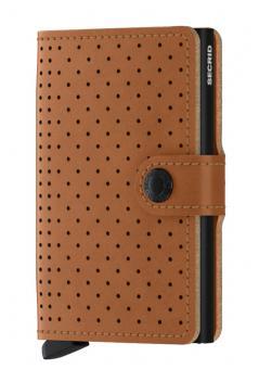 Secrid Miniwallet Perforated Cognac