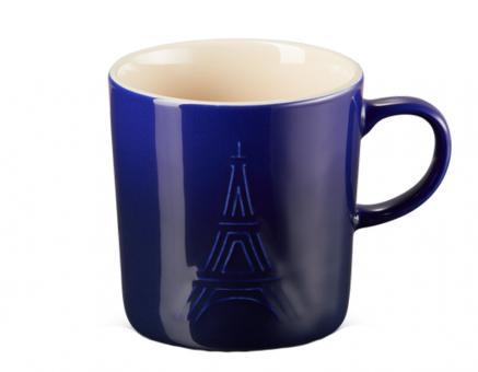 Le Creuset Eiffelturm Becher 350 ml Indigo