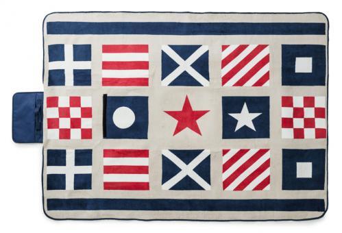 Sagaform Picknickdecke Navy