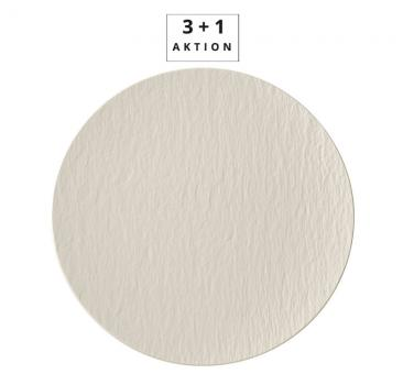 Villeroy & Boch Aktion 3+1 Gourmetteller 31,5x31,5x2,5 cm Manufacture Rock Blanc