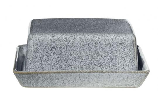 ASA Selection Butterdose Denim 16,5x13,5 cm H 7 cm