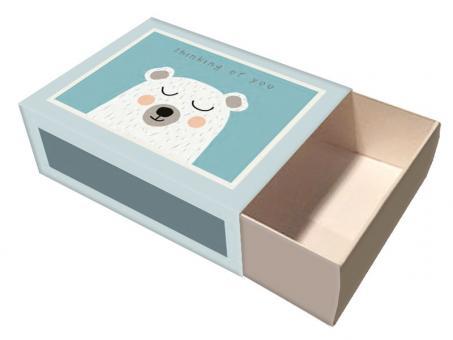 chic.mic Box L Bear Thinking 96x128x40 mm